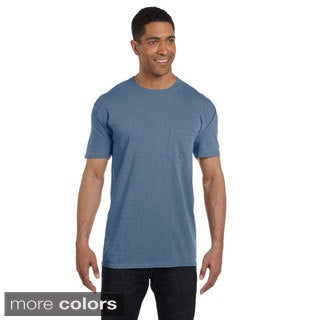 6.1-ounce Garment-dyed Pocket T-shirt