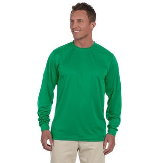 100-percent Polyester Moisture-wicking Long-sleeve T-shirt