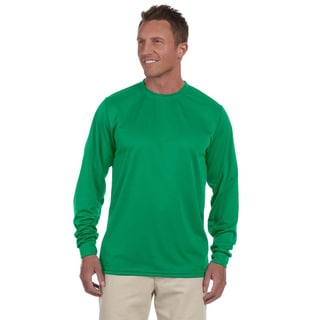 Link to 100-percent Polyester Moisture-wicking Long-sleeve T-shirt Similar Items in Shirts