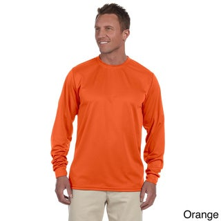 100-percent Polyester Moisture-wicking Long-sleeve T-shirt