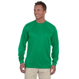 100-percent Polyester Moisture-wicking Long-sleeve T-shirt (More options available)