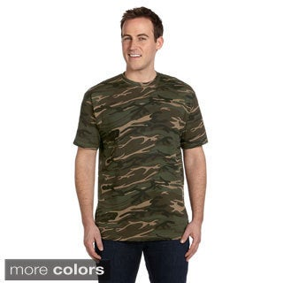 Men's Ringspun Heavyweight Camouflage T-shirt