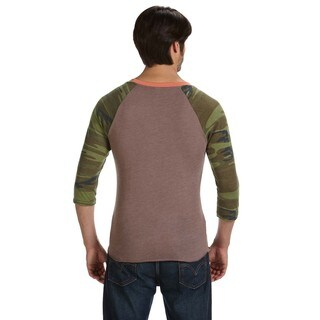 Men's Eco-jersey 3/4-sleeve Baseball T-shirt