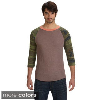 Men's Eco-jersey 3/4-sleeve Baseball T-shirt (3 options available)