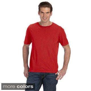 Men's Destroyed Short-sleeve Cotton T-shirt