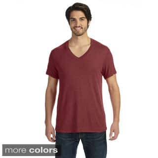 Men's Feeder Stripe Short-sleeve V-neck|https://ak1.ostkcdn.com/images/products/9008026/Mens-Feeder-Stripe-Short-sleeve-V-neck-P16210850.jpg?impolicy=medium