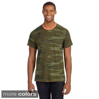 Men's Printed Short-sleeve Crew Neck T-shirt