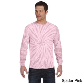 Tie-dyed Long-sleeve Cotton T-shirt
