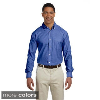 Men's Performance Plus Long-sleeve Oxford Shirt
