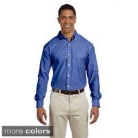 Men's Performance Plus Long-sleeve Oxford Shirt