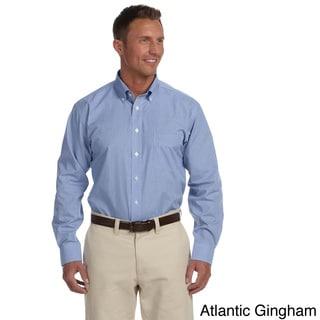 Men's Executive Performance Broadcloth Button-down Shirt