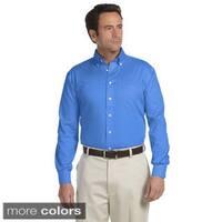 Men's Executive Performance Pinpoint Oxford Long-sleeve Shirt