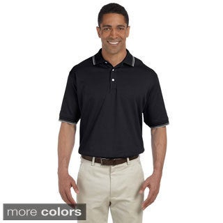 Men's Tipped Perfect Interlock Short-sleeve Polo Shirt