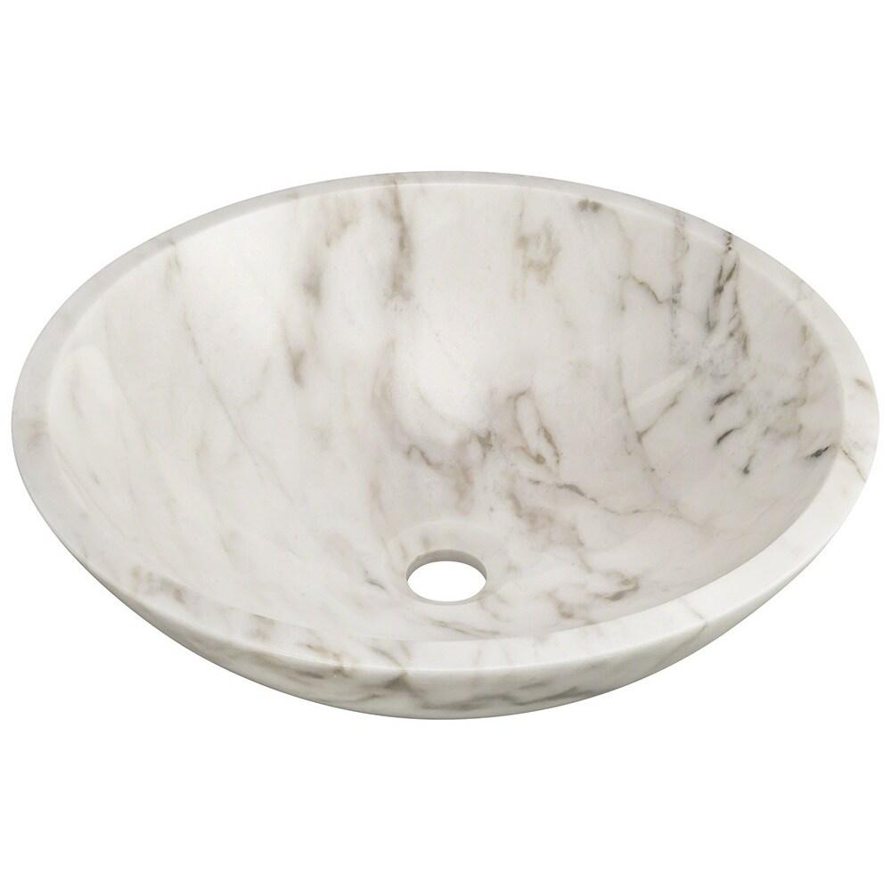 White Granite Vessel Sink