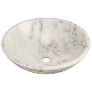 Link to Polaris Sinks P058W White Granite Vessel Sink Similar Items in Sinks