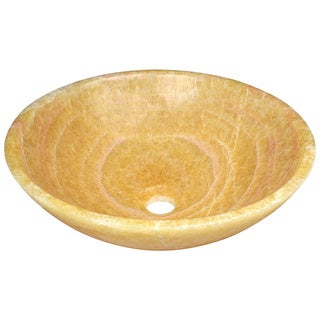 Polaris Sinks P358 Honey Onyx Vessel Sink