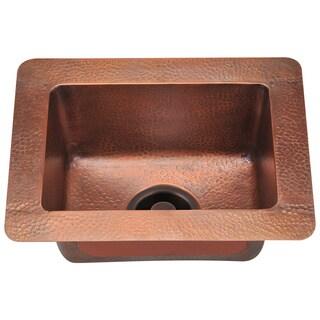 Polaris Sinks P509 Small Single Bowl Copper Sink