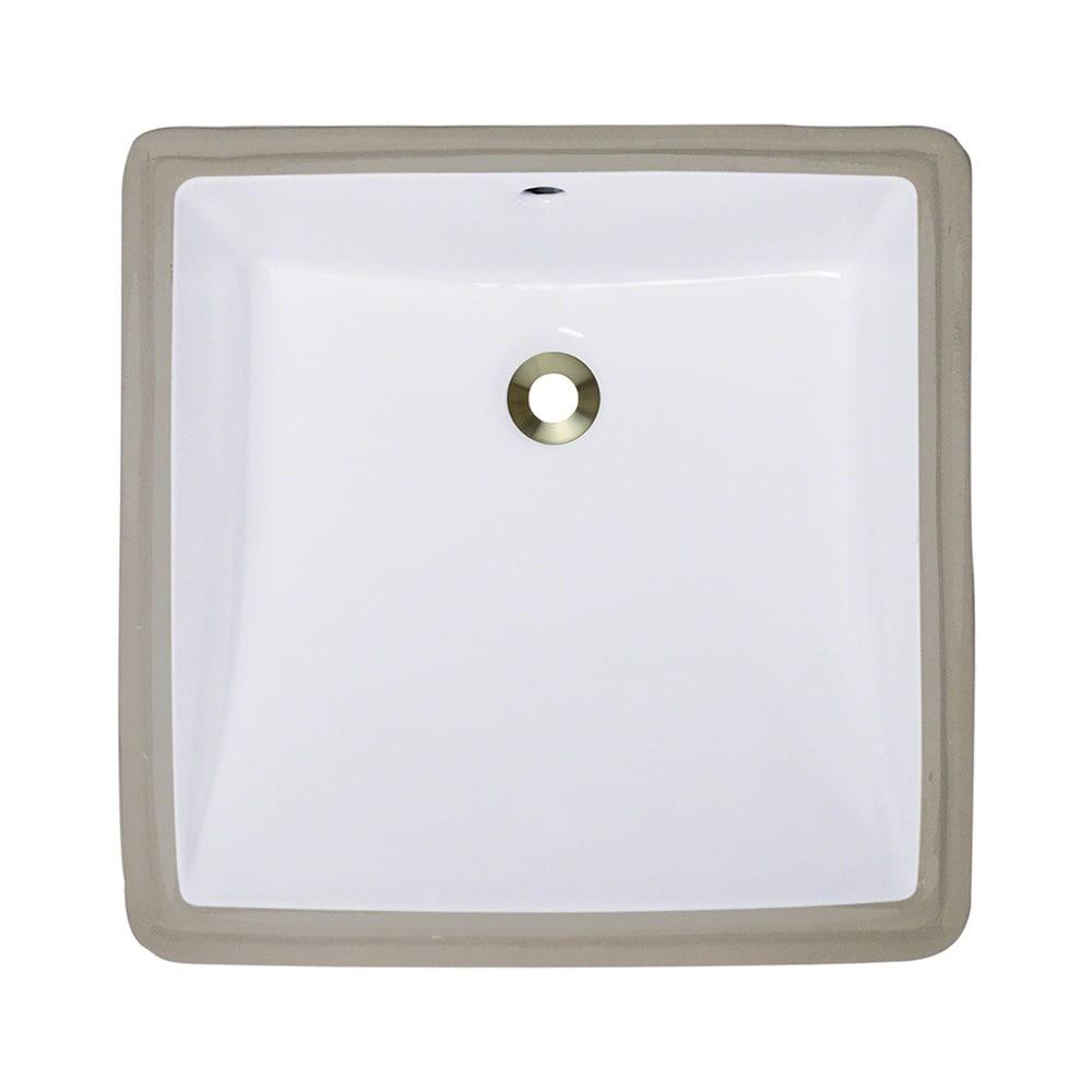 Polaris Sinks P0322uw White Undermount Porcelain Bathroom Sink Overstock 9008205