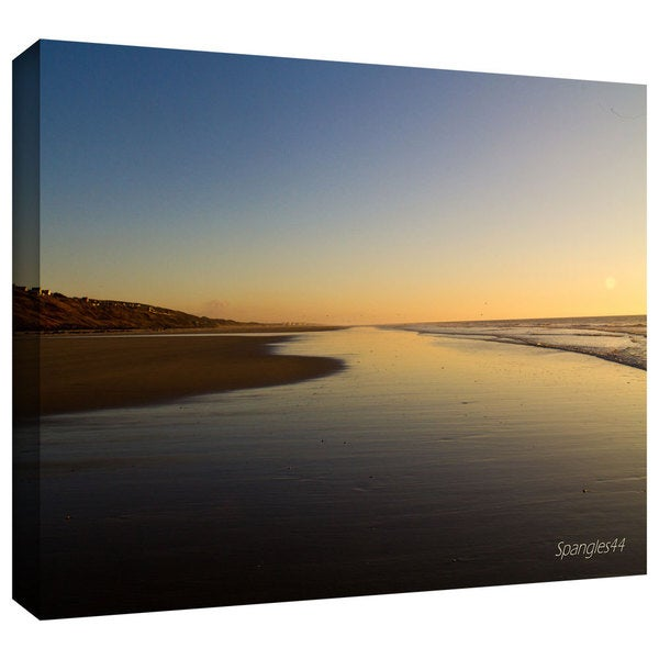 Lindsey Janich 'Equihen Plage' Gallery-Wrapped Canvas