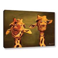 Lindsey Janich 'Giraffe Buddies' Gallery-Wrapped Canvas