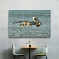 Lindsey Janich 'Pelican 11a' Gallery-Wrapped Canvas - Multi