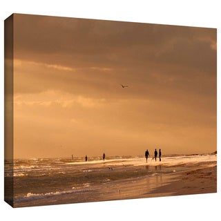 Lindsey Janich 'Walkers Siesta Key' Gallery-Wrapped Canvas