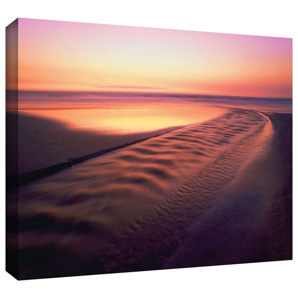 Dean Uhlinger 'Back to the Sea' Gallery-Wrapped Canvas