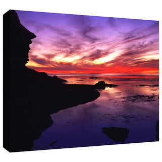 Dean Uhlinger 'Sunset Cliffs Twilight' Gallery-Wrapped Canvas