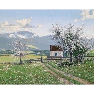 The Paradise' Oil on Canvas Art
