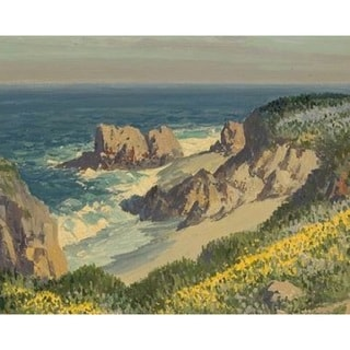 Carmel by the Sea' Oil on Canvas Art