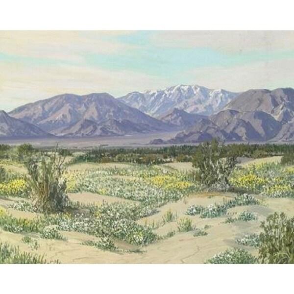 Desert' Oil on Canvas Art - Multi