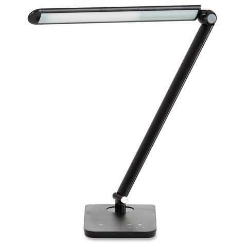 Safco Vamp LED Modern ABS Office Desk Lamp with USB Port and Dimmer Switch