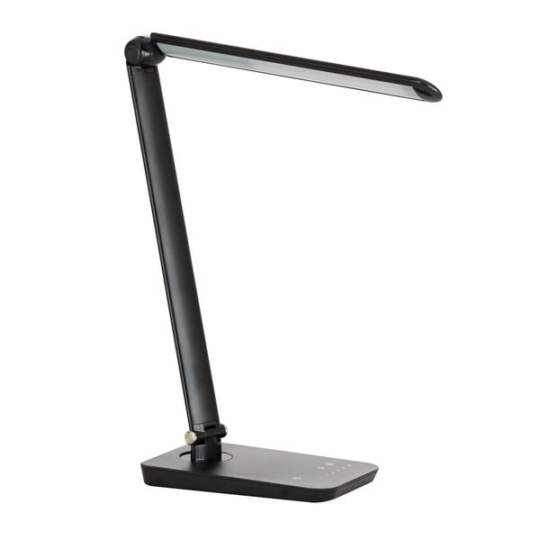 Safco Vamp LED Modern ABS Office Desk Lamp with USB Port and ...
