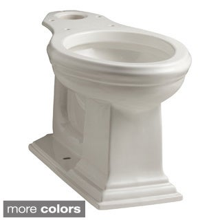 Kohler K-4380 Memoirs Comfort Height Elongated Toilet Bowl