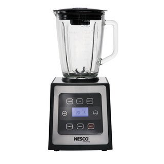 Nesco Black/ Stainless Steel BL-90 700-watt 1.6-quart Glass Pitcher Digital Touch Blender