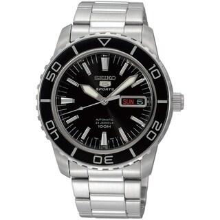 Seiko Men's 5 Sports Silvertone Watch