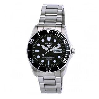 Seiko Men's SNZF17K1 5 Sports Silvertone Automatic Watch