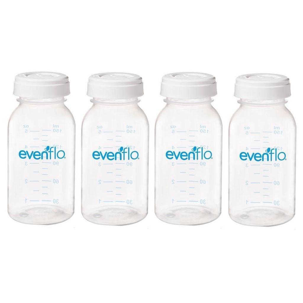 Evenflo 5-ounce Milk Storage Bottle (4 Pack) (Milk Storag...