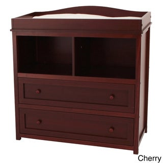 AFG Baby Furniture Mikaila Ariel Solid Wood Two Drawer Baby Changer Dresser
