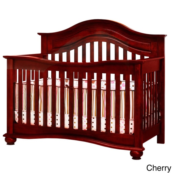 Mikaila Phoebe 3-in-1 Convertible Crib - Overstock - 9009373