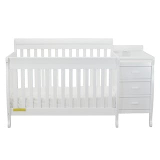 Mikaila Milano 3-in1 Convertible Crib with Toddler Rail