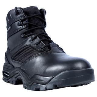 Ridge Outdoors Men's Black Leather Mid Zipper Motorcycle Boots|https://ak1.ostkcdn.com/images/products/9009453/Ridge-Mens-Black-Leather-Mid-Zipper-Motorcycle-Boots-P16212033.jpg?impolicy=medium