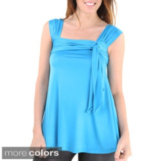 24/7 Comfort Apparel Women's Side-tie Tunic Tank Top (More options available)