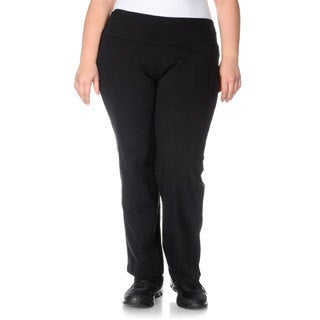 Teez-Her Women's Plus Size 'The Skinny' Tummy Control Pants