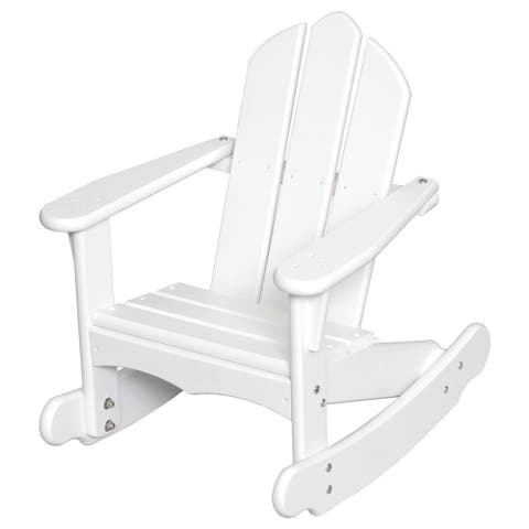 Little Colorado Child's Adirondack Rocking Chair - 23 inches high x 19 inches wide x 23 inches depth