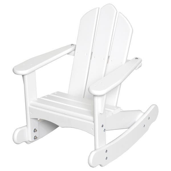 Sensational Shop Little Colorado Childs Adirondack Rocking Chair 23 Beatyapartments Chair Design Images Beatyapartmentscom