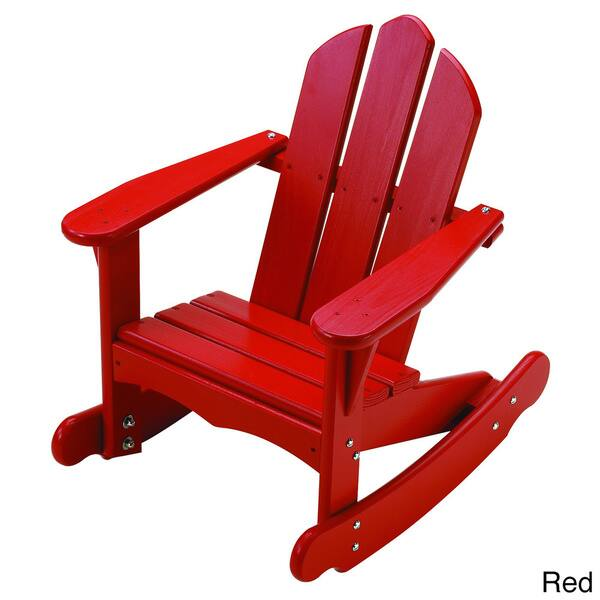 Outstanding Shop Little Colorado Childs Adirondack Rocking Chair 23 Ncnpc Chair Design For Home Ncnpcorg