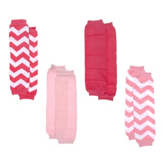 Crummy Bunny Baby Girl Leg Warmers (Set of 4)