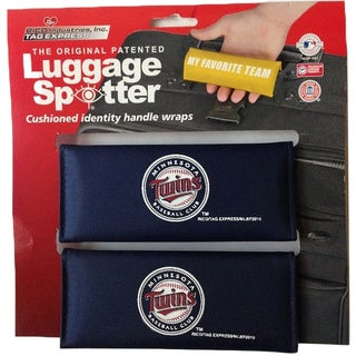 MLB Minnesota Twins Original Patented Luggage Spotter (Set of 2)