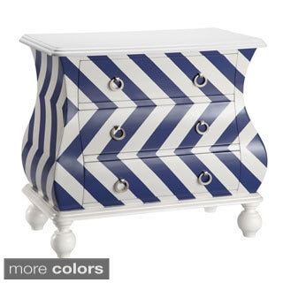 Intelligent Design Chevron Bombe Chest